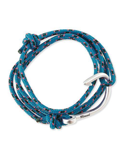 Miansai   Blue Hook Rope Bracelet   Lyst