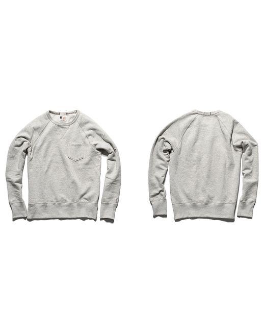 kaufmann mercantile snyder x champion sweatshirt in beige. Black Bedroom Furniture Sets. Home Design Ideas
