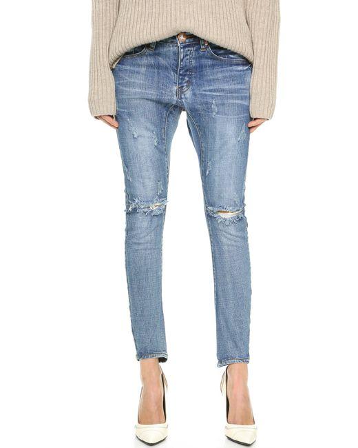 One Teaspoon | Blue Desperado Jeans | Lyst