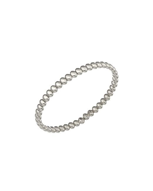 Chimento | Metallic 18k White Gold Armillas Acqua Collection Bead Link Bracelet | Lyst
