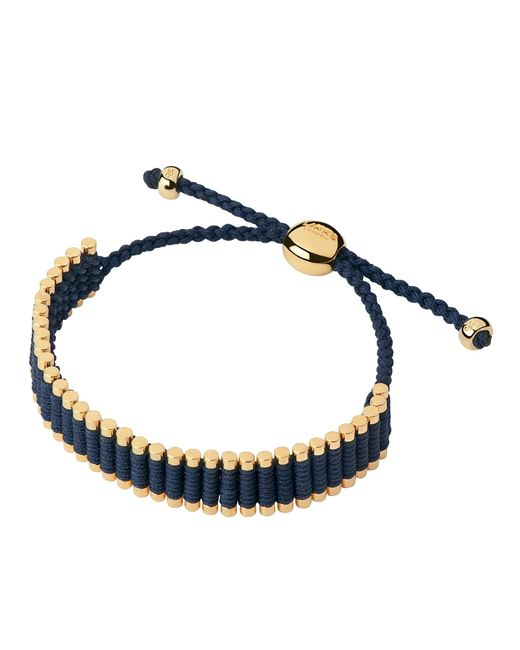 Links of London | Blue 18Ct Yellow Gold Friendship Bracelet | Lyst
