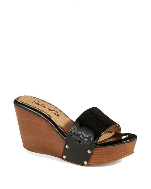 Splendid | Black Greenville Wedges | Lyst