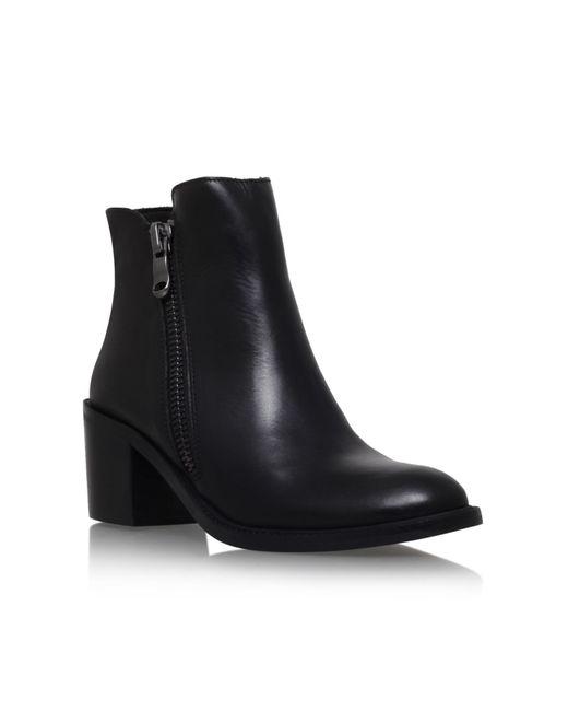 Carvela Kurt Geiger | Black Skim High Heel Ankle Boots | Lyst