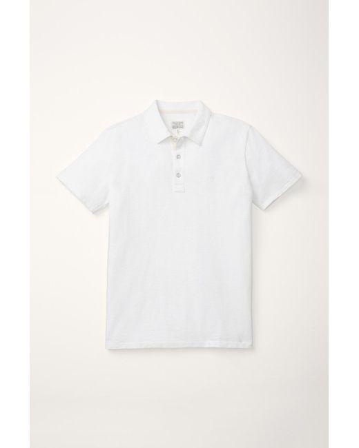 Rag & Bone | White Standard Issue Polo for Men | Lyst
