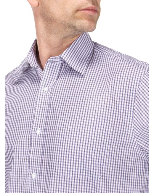 Skopes | Purple Easy Care Formal Shirts for Men | Lyst
