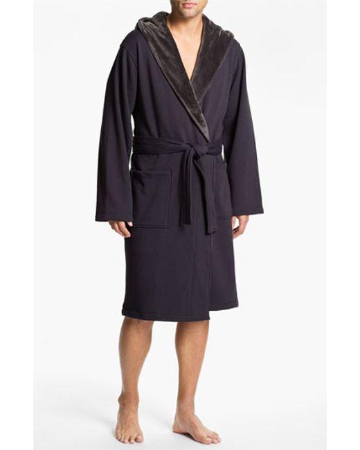 UGG | Gray Ugg 'brunswick' Robe for Men | Lyst