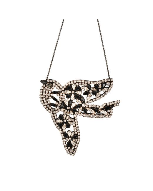 Shourouk | Metallic Vintage Bird Flower | Lyst
