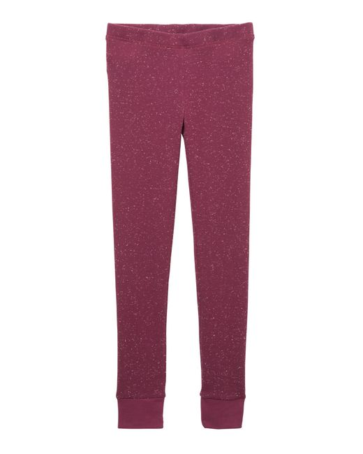 Alternative Apparel | Purple Getaway Eco-space Dye Thermal Leggings | Lyst