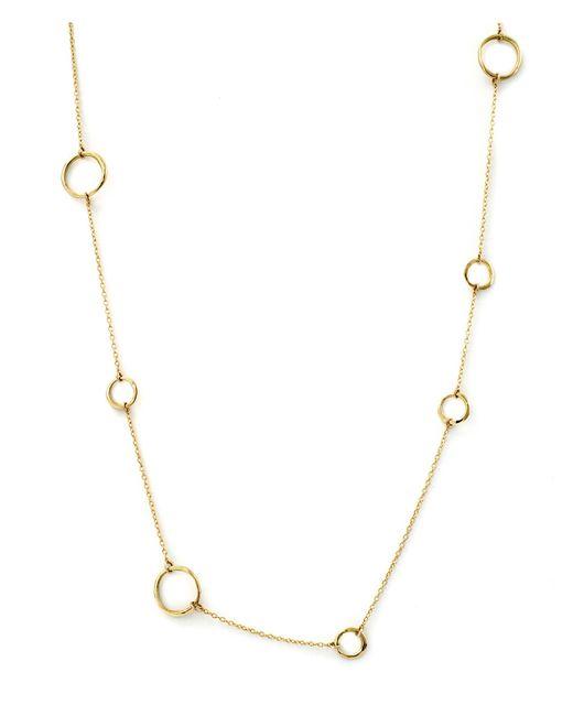 Satomi Kawakita | Metallic 18k Multi Circle Necklace | Lyst