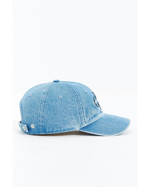 Calvin Klein Baseball Denim Cap In Blue For Men Lyst