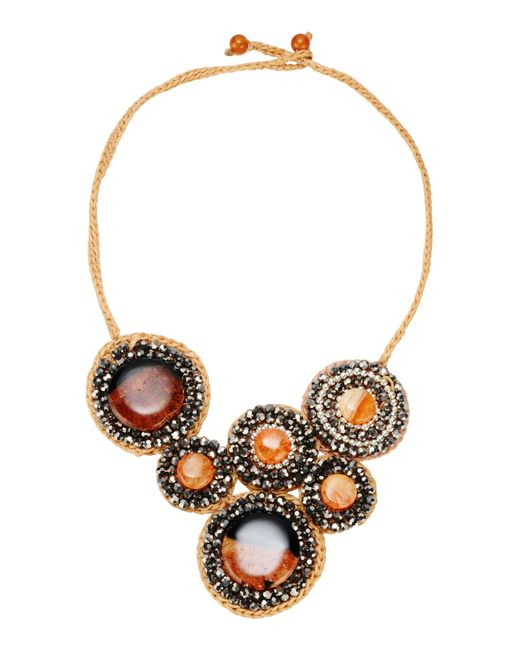 First People First | Orange Necklace | Lyst