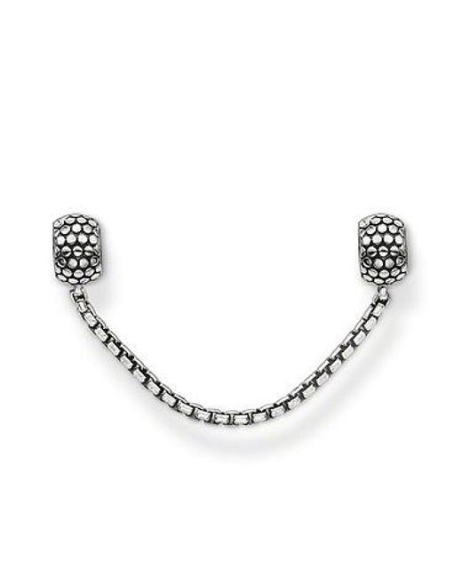 Thomas Sabo | Metallic Karma Bead Accessory Safety Chain | Lyst