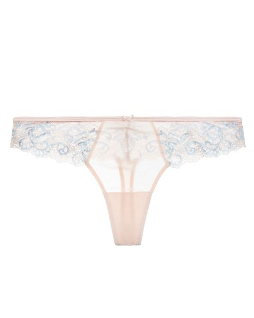 Blush Lingerie True Bliss Thong In Pink