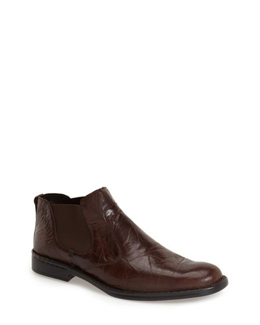 Josef Seibel | Brown 'douglas' Boot for Men | Lyst
