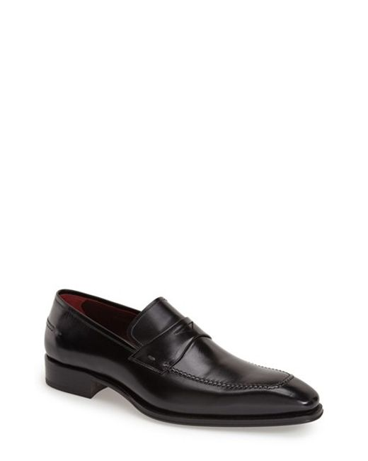 Mezlan | Black 'toulon' Penny Loafer for Men | Lyst
