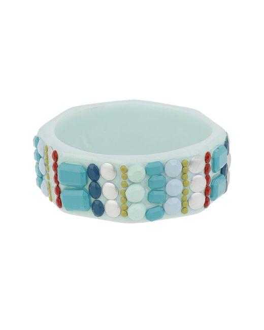 Mikey | Blue Multi Bead Stuck On Bracelet | Lyst