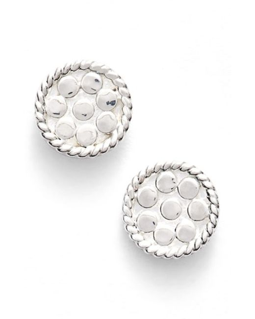 Anna Beck | Metallic 'gili' Mini Disc Stud Earrings | Lyst