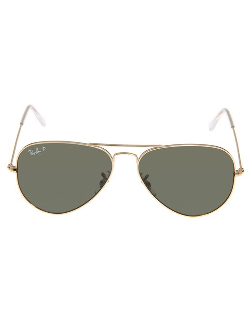 ray ban rb3025 original amber aviator polarized sunglasses