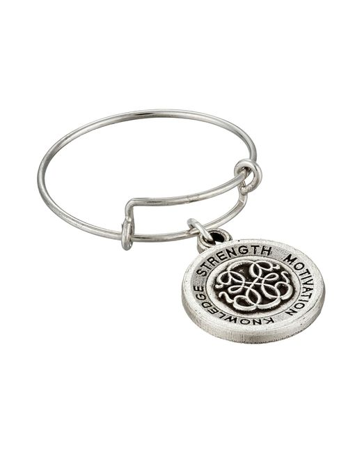 ALEX AND ANI | Metallic Expandable Ring | Lyst