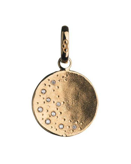 Links of London | Metallic Watch Over Me Moon 18ct Gold Charm | Lyst
