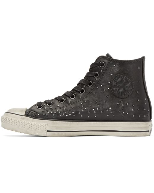 Black Punk Shoes Metal Studded High Top Converse Shoes Spiked Converse Sneaker Punk Sneaker Custom Steam Punk Shoe Made To Order ALL Size ATSlowTimes out of 5 stars.