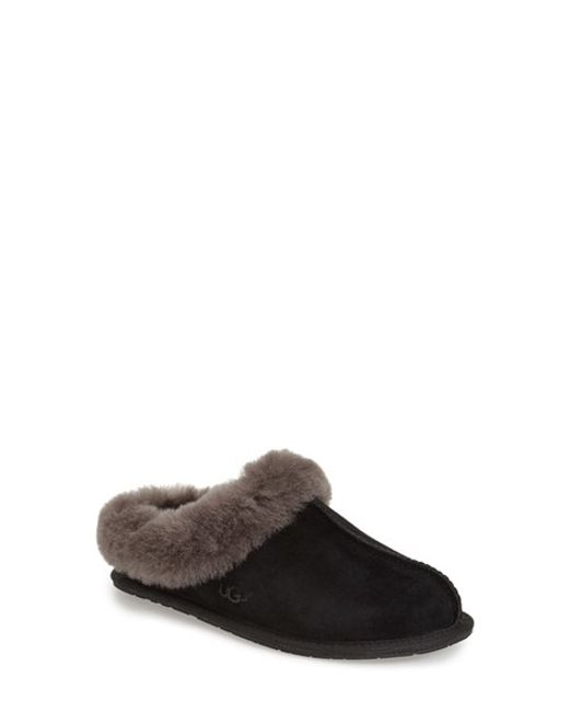 UGG | Black 'Moraene' Water Resistant Slipper | Lyst