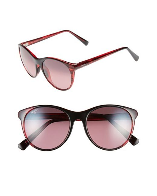 Maui Jim | Red 'mannikin' 54mm Cat Eye Sunglasses | Lyst