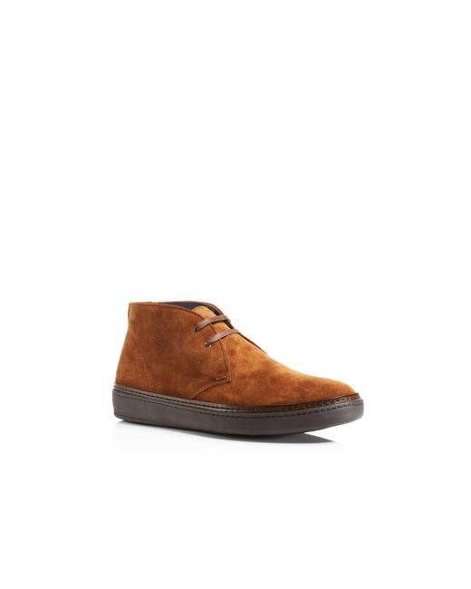 To Boot | Brown To Boot Dyson 2-eye Chukka Sneakers for Men | Lyst
