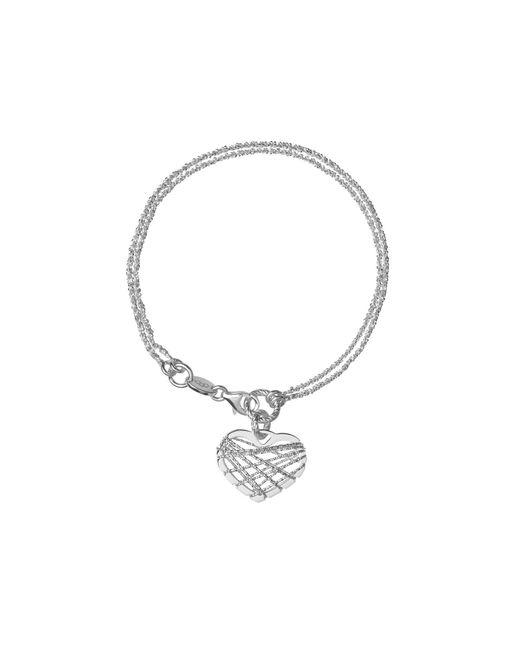 Links of London | Metallic Dream Catcher Heart Bracelet | Lyst