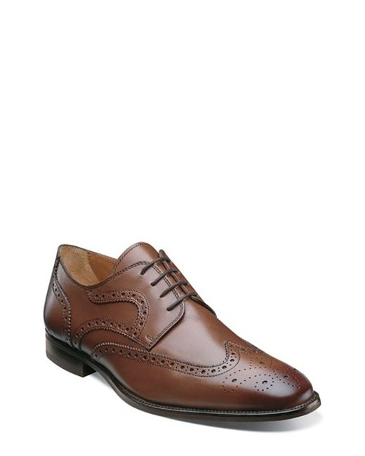 Florsheim | Brown 'sabato' Wingtip for Men | Lyst