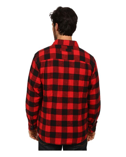 Woolrich | Red Oxbow Bend Shirt Jacket for Men | Lyst
