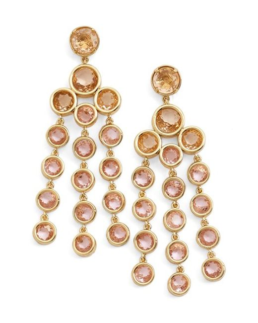 Kate Spade | Pink Chandelier Earrings | Lyst