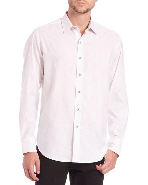 Robert Graham | White Cullen Cotton Sportshirt for Men | Lyst