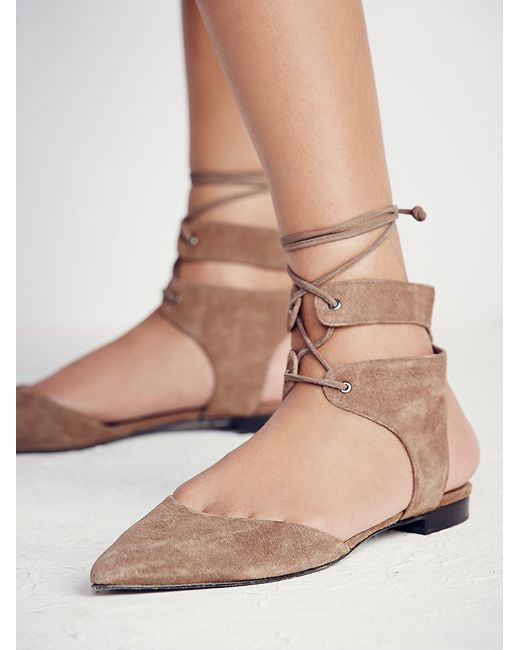 Free People | Gray Kolida Flat | Lyst
