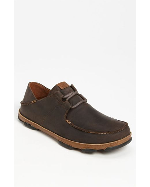 Olukai | Brown 'ohana' Lace Up for Men | Lyst