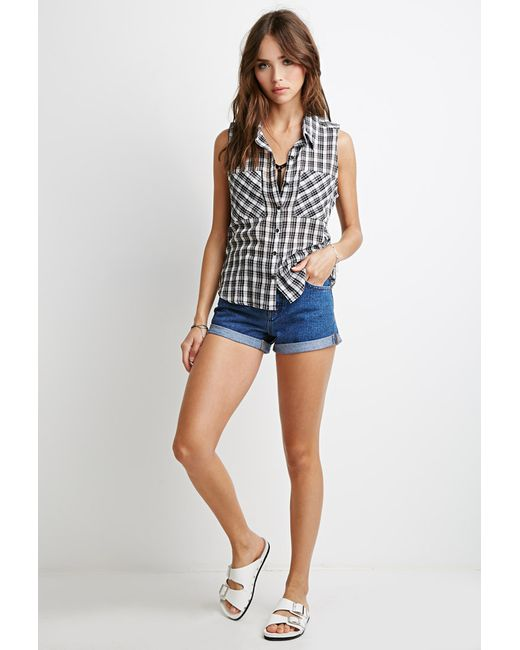 Forever 21 | Natural Classic Plaid Shirt | Lyst