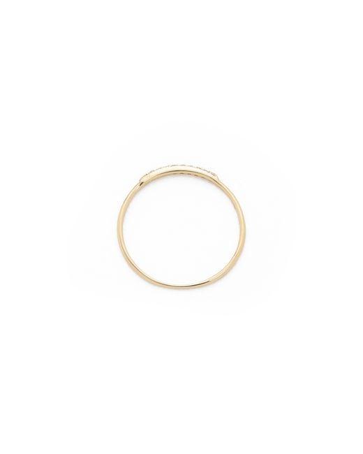 Gabriela Artigas | Metallic Pave Diamond Mini Axis Ring | Lyst