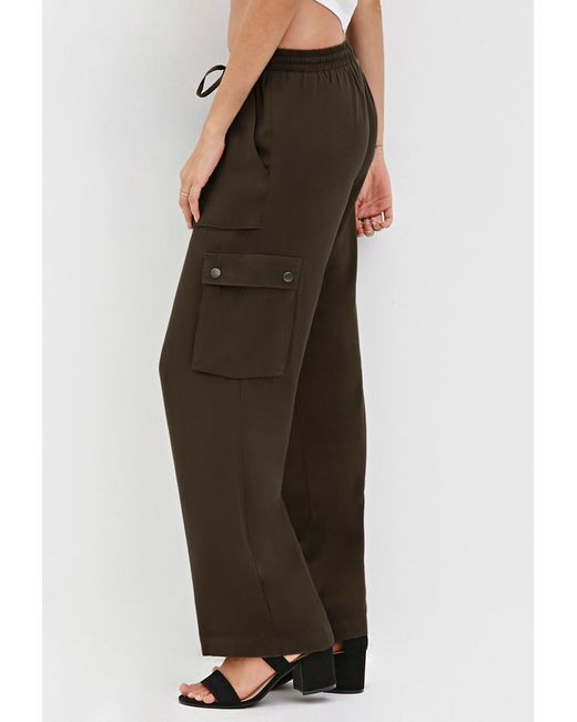 Perfect Army Cargo Pants For Women Forever 21  Wwwimgarcadecom  Online