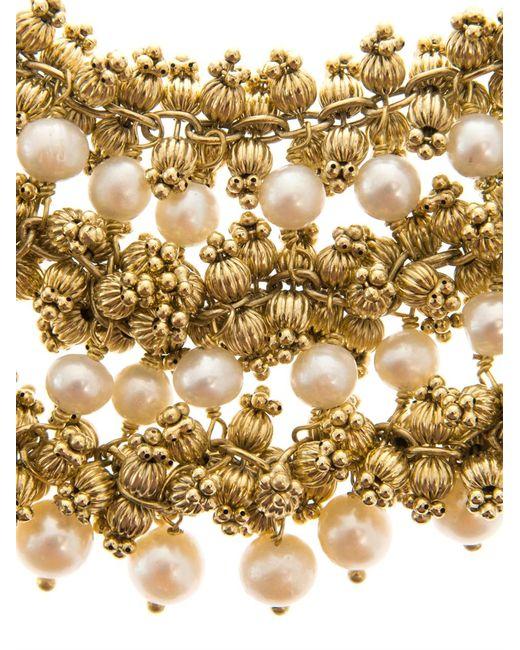 Rosantica By Michela Panero   Metallic Ii Mondo Agate Bead Necklace   Lyst