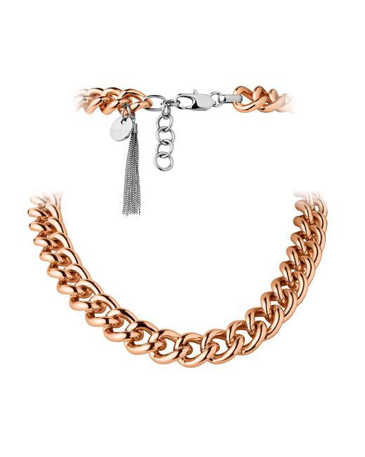 Dyrberg/Kern | Pink Fundrina Metal Necklace | Lyst