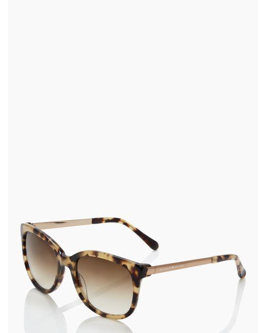 kate spade new york | Brown Gayla Sunglasses | Lyst