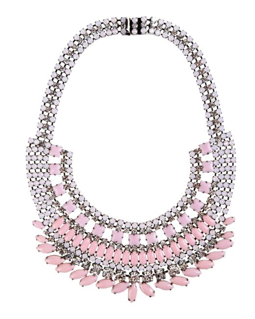 Tom Binns | Pink Neopolitano Necklace | Lyst