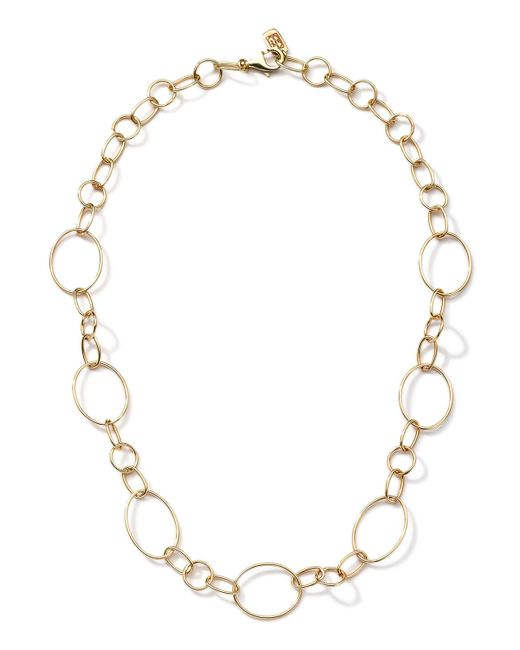 Ippolita | Metallic 18k Gold Glamazon Link Necklace With Seven Ovals | Lyst