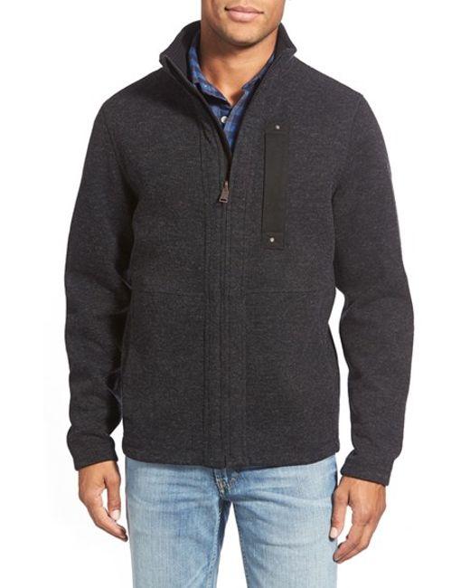 Timberland | Black 'branch' Zip Front Fleece for Men | Lyst