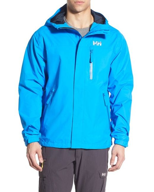 Helly Hansen U0026#39;vancouveru0026#39; Packable Rain Jacket Blue In Blue For Men (RACER BLUE) - Save 50% | Lyst