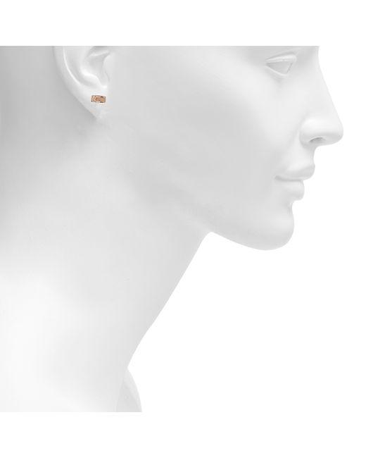 Ginette NY   Metallic Gold Bar Earrings   Lyst