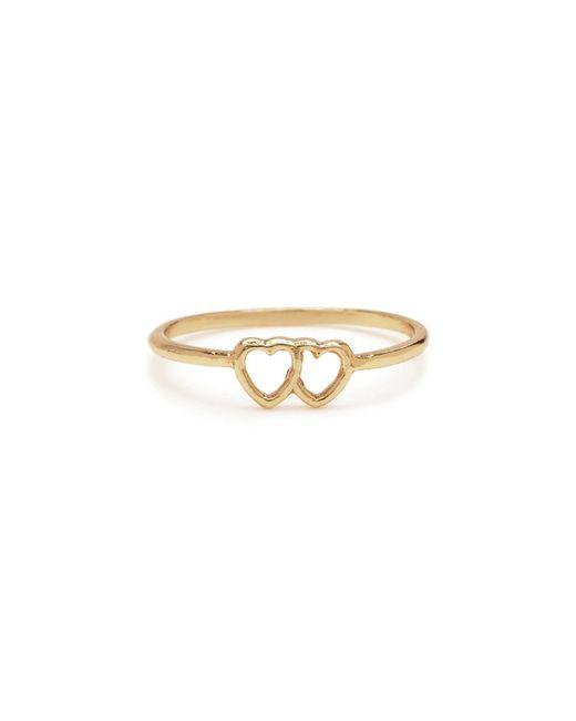 Bing Bang | Metallic Tiny Loved Up Ring | Lyst