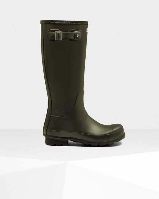 Hunter | Green Men's Original Tall Rain Boots for Men | Lyst
