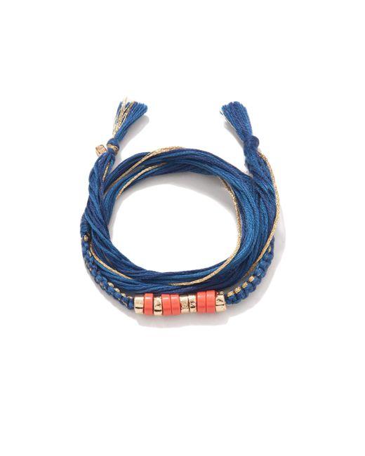 Aurelie Bidermann | Pink Takayamas Wrap Bracelet | Lyst