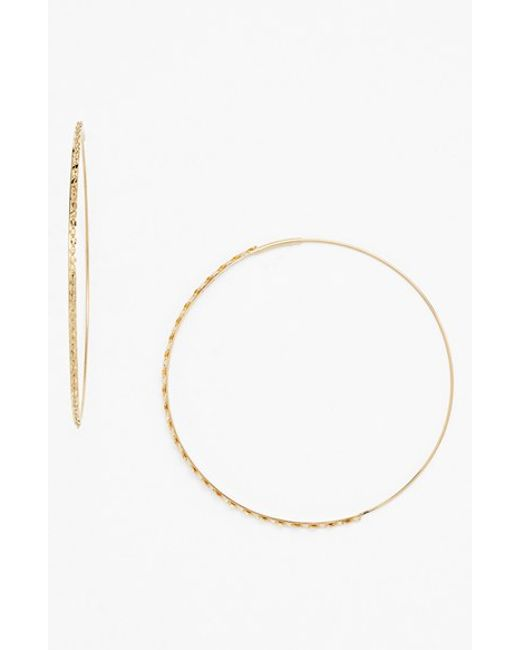 Lana Jewelry | Yellow 'glam Magic' Large Hoop Earrings | Lyst